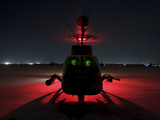 Pilots Prepare For Takeoff in An OH-58D Kiowa Warrior On Camp Speicher, Iraq Photographic Print by Stocktrek Images