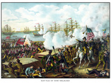 Digitally Restored War of 1812 Print at the Battle of New Orleans Photographic Print by Stocktrek Images