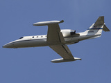 United States Air Forces Europe C-21A Learjet in Flight Over Germany Photographic Print by Stocktrek Images