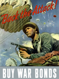 Digitally Restored War Propaganda Poster Photographic Print by Stocktrek Images