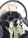 Cockpit View of a Eurofighter Typhoon Photographic Print by Stocktrek Images