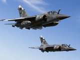 Mirage F1CR of the French Air Force Over France Photographic Print by Stocktrek Images