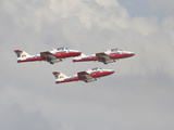 The Snowbirds 431 Air Demonstration Squadron of the Royal Canadian Air Force Photographic Print by Stocktrek Images