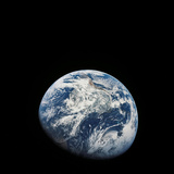 View of Earth Taken from the Aollo 8 Spacecraft Photographic Print by Stocktrek Images