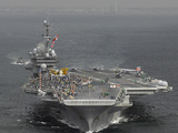USS Kitty Hawk Photographic Print by Stocktrek Images