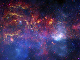 The Central Region of the Milky Way Galaxy Photographic Print by Stocktrek Images
