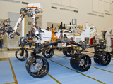 Mars Science Laboratory Rover, Curiosity Photographic Print by Stocktrek Images