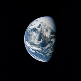 View of Earth Taken from the Apollo 13 Spacecraft Photographic Print by Stocktrek Images