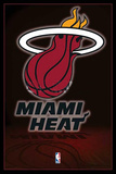 Miami Heat NBA Team Logo Posters