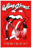 Rolling Stones It's Only Rock n Roll Plakaty