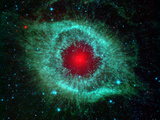 Helix Nebula Photographic Print by Stocktrek Images