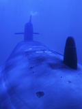 Bow View of the USS Kamehameha Photographic Print by Stocktrek Images
