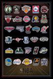 NBA Team Logos Prints