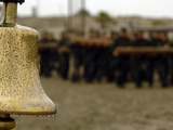 The Bell Is Present On the Beach During Hell Week, Should a Student Decide He No Longer Wishes Photographic Print by Stocktrek Images