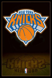 New York Knicks NBA Team Logo Póster