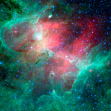 The Eagle Nebula Photographic Print by Stocktrek Images