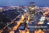 Boston Skyline Photograph Print