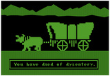 You Have Died of Dysentery Stampe