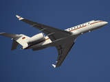 A Bombardier Global 5000 VIP Jet of the German Air Force Photographic Print by Stocktrek Images
