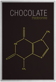 Chocolate (Theobromine) Molecule Prints