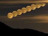 Full Moonrise Photographic Print by Stocktrek Images