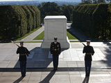 Changing of Guard at Arlington National Cemetery Photographic Print by Stocktrek Images