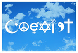 Coexist Sky Posters