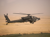 AH-64D Apache Helicopter On a Mission Over Northern Iraq Photographic Print by Stocktrek Images