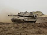 An Israel Defense Force Merkava Mark IV Main Battle Tank Photographic Print by Stocktrek Images