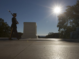 Honor Guard at the Tomb of the Unknowns, Arlington National Cemetery Photographic Print by Stocktrek Images