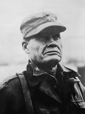 Digitally Restored Vector Portrait of General Lewis Chesty Puller Photographic Print by Stocktrek Images