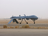A MQ-1 Predator Unmanned Aerial Vehicle Photographic Print by Stocktrek Images