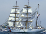The USCGC Eagle, a 295-foot Barque Used As a Training Cutter Photographic Print by Stocktrek Images