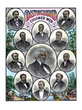 American History Print Featuring Some of the Most Celebrated African American Leaders Photographic Print by Stocktrek Images