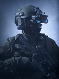 Special Operations Forces Soldier Equipped with Night Vision Photographic Print by Stocktrek Images