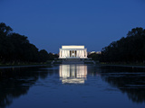 Lincoln Memorial Reflection in Pool, Washinton D.C., USA Photographic Print by Stocktrek Images