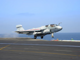 An EA-6B Prowler Launches from the Flight Deck of USS Dwight D. Eisenhower Photographic Print by Stocktrek Images