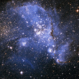 The Small Magellanic Cloud Photographic Print by Stocktrek Images