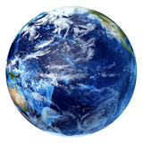 3D Rendering of Planet Earth, Centered On the Pacific Ocean Photographic Print by Stocktrek Images