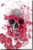 Skull 2 Stretched Canvas Print by Parvez Taj