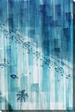 Rio Stretched Canvas Print by Parvez Taj