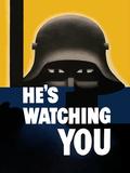 Digitally Restored War Propaganda Poster Photographic Print by Stocktrek Images