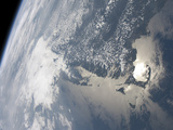 Sunglint On the Waters of Earth Photographic Print by Stocktrek Images