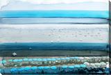 Spiaggia Stretched Canvas Print by Parvez Taj