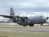 A C-130 Hercules Lands at McChord Air Force Base, Washington Photographic Print by Stocktrek Images