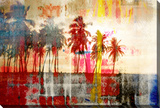 Abbott Kinney Gallery Wrapped Canvas by Parvez Taj