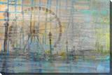 Carousel Stretched Canvas Print by Parvez Taj