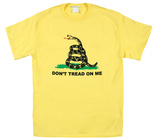 Don't Tread on Me - Yellow T-Shirt