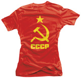 Juniors: CCCP - Hammer and Sickle T-Shirt