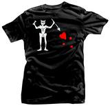 Blackbeard Pirate Flag T-Shirt